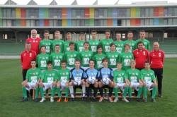 U15 Mannschaftsfoto 2010/11