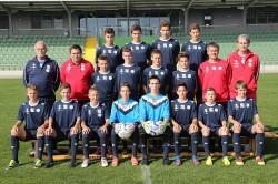 U15 Mannschaftsfoto 2012/13
