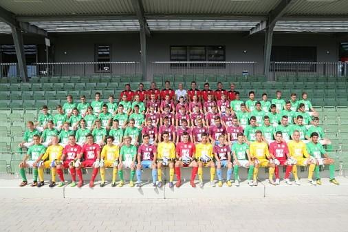 Gesamtkader 2013/14 (U15/U16/U18 & Trainerteam)