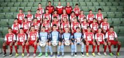 U15 Mannschaftsfoto 2015/16