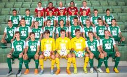 U18 Mannschaftsfoto 2015/16