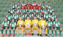 U15 Mannschaftsfoto 2016/17