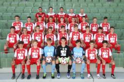 U16 Mannschaftsfoto 2016/17