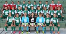 U18 Mannschaftsfoto 2016/17