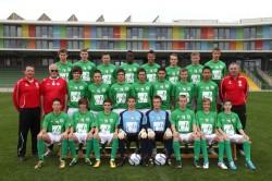 U18 Mannschaftsfoto 2010/11