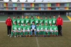 U15 Mannschaftsfoto 2011/12