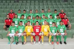 U18 Mannschaftsfoto 2013/14