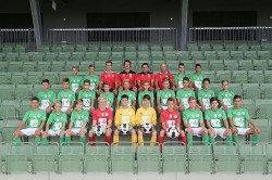 U15 Mannschaftsfoto 2014/15