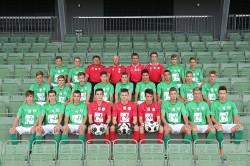 U18 Mannschaftsfoto 2014/15