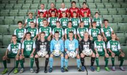 U16 Mannschaftsfoto 2015/16
